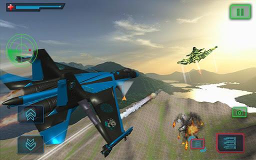 US Air Force Military Pilot Sky Battle 3D filehippodl screenshot 8