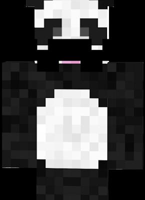 panda with facial hair