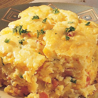 Ham and Corn Casserole.
