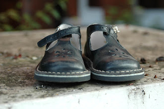Photo: Abandoned Children's shoes, North London