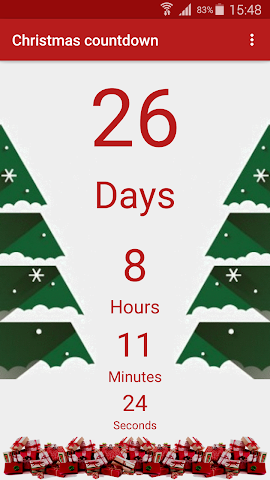 android Christmas Countdown Screenshot 1