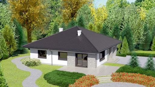 projekt Dom przy Słonecznej 2 bis