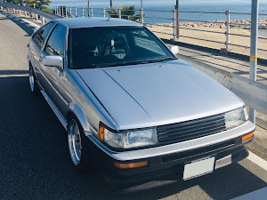 カローラレビン AE86 GT-APEX 1984年式のカスタム事例画像 kitt8686さんの2020年02月13日15:05の投稿