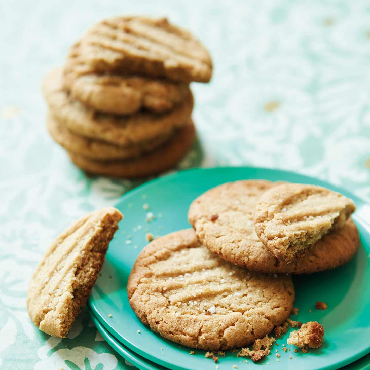 Bacon Fat Peanut Butter Cookies