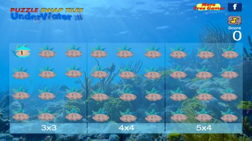 Puzzle Swap Tiles Underwater