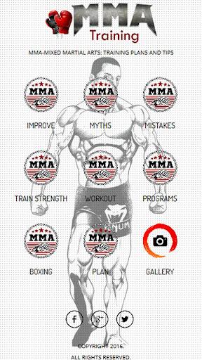 MMA Training and Fitness 1.0 screenshots 1