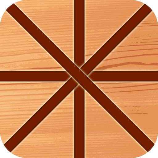 解谜のカット木材 LOGO-記事Game