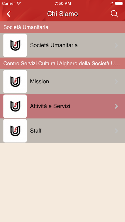 Umanitaria Sardegna- screenshot