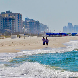 On the Gulf Of Mexico by Victoria Eversole - Landscapes Beaches ( coastal lifestyle, tourism in the southeast, gulf coast adventures, orange beach )