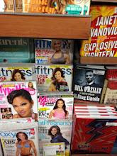 Photo: I grabbed a Fitness magazine too.