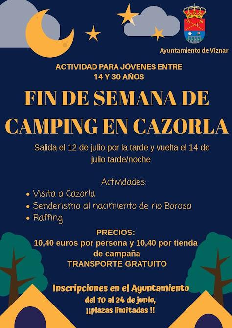 CampingCazorlaViznar2019