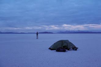 Photo: Salar Trek, salar de Coipasa, Bolivia, 2013