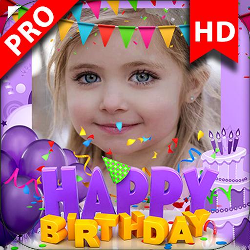 App Insights Birthday Photo Frame 2019 Editor