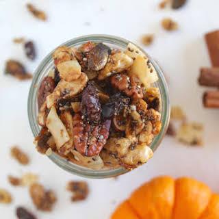 Paleo Pumpkin Spice Granola.