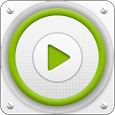 PlayerPro Cloudy Green Skin icon