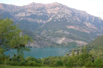 Photo: Le lac de Serre-Ponçon