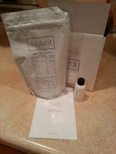 Photo: Day 6 #Soylent v1.3 instead of 1.4 - thinner, grittier (even after sitting overnight) has a flavor supposed to be vanilla but is weird. I prefer v1.4 #SoylentPioneer   Soylent v1.3 Buy: http://soylent.me/ Writeup: http://amazonv.dreamwidth.org/40561.html Project Tag: http://amazonv.dreamwidth.org/tag/soylent Spreadsheet: https://docs.google.com/spreadsheets/d/1c_ceOFR7S_4qUiVcEG3ykQiSRpuc13PnmcraBwklDWg/edit#gid=0