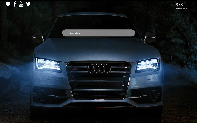 Audi HD Wallpapers New Tab Background