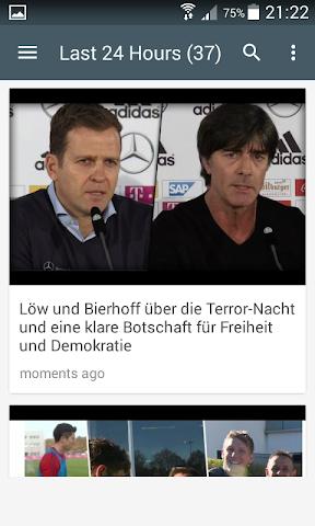 android Live Football Score Bundesliga Screenshot 1