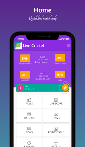 Live Cricket screenshot 1