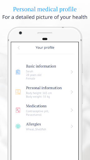 Ada Personal Health Companion app (apk) free download for Android/PC/Windows screenshot