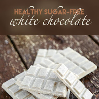 Healthy Low-Carb White Chocolate.