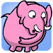 Pink Elephant Game Icon