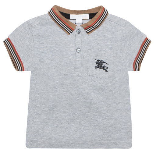 Primary image of Burberry Baby Cotton Piqué Polo