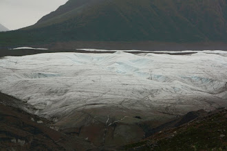 Photo: got to walk up to it. no crampons and we did not go on a guided tour so we just got on it for a few seconds. ice is slippery!