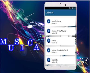 Calibre 50 -Lo mas Romántico Nuevo Musica Y Letras - náhled