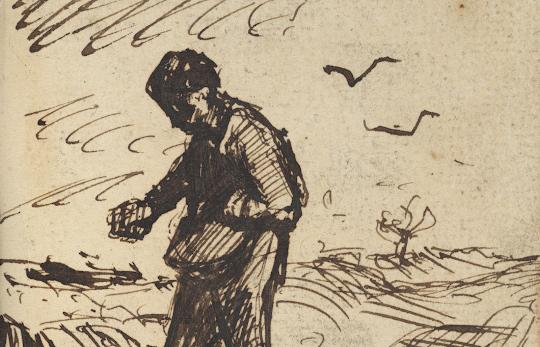 Van Goghs Sketchbooks In Facsimile Van Gogh Museum