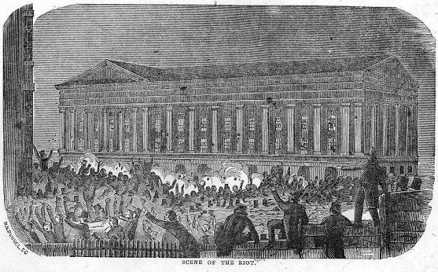 """Account of the Terrific and Fatal Riot at the New-York Astor Place Opera House"" 1849."