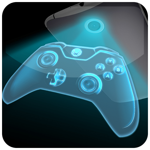 ゲームパッドホログラムカメラ 模擬 App LOGO-硬是要APP