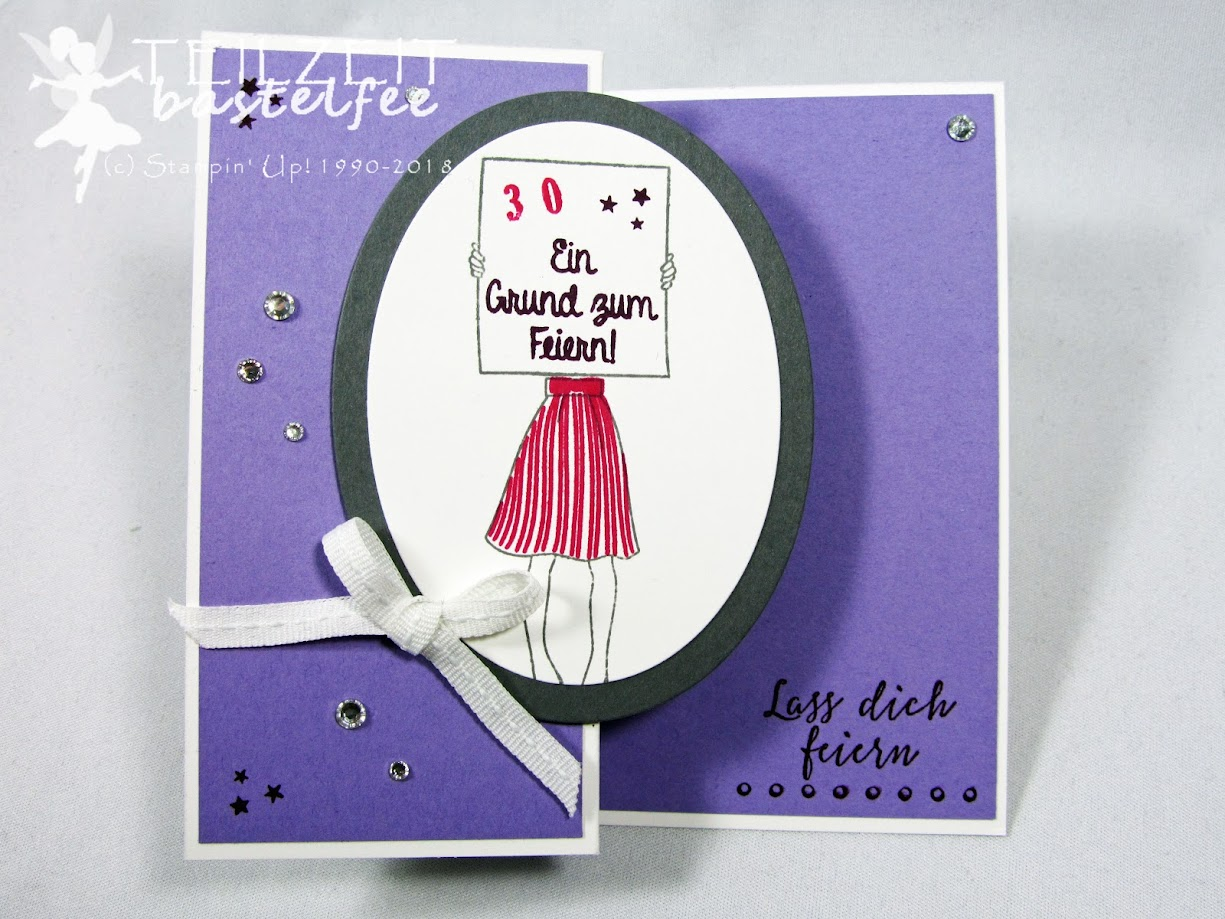Stampin' Up! - IN{K}SPIRE_me Color Challenge #354, Persönlich überbracht, Birthday, Geburtstag, Liebevolle Details, Pick a Pennant, Kling Glöckchen, Jingle all the Way, Z-Card