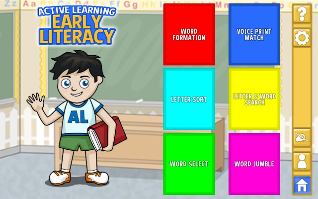 Ad Added Early literacy educational application Early Literacy 5
