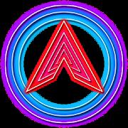 App Arc Launcher Neon Techy Star Premium Theme APK for Kindle