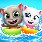Talking Tom Pool - Puzzle Game Android APK Download Free By Outfit7 Limited