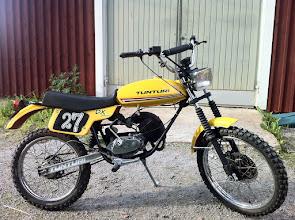 Photo: Tunturi DX, Trial, Tiger, Tiger Aqua ja Sport yms. osilla rakennettu DX Lappi Special ajomopo