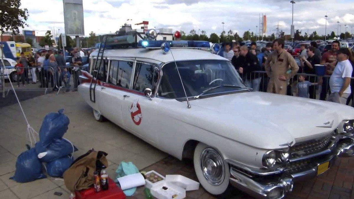 Cadillac Ghostbusters Ecto1 Replica Hire Dukinfield