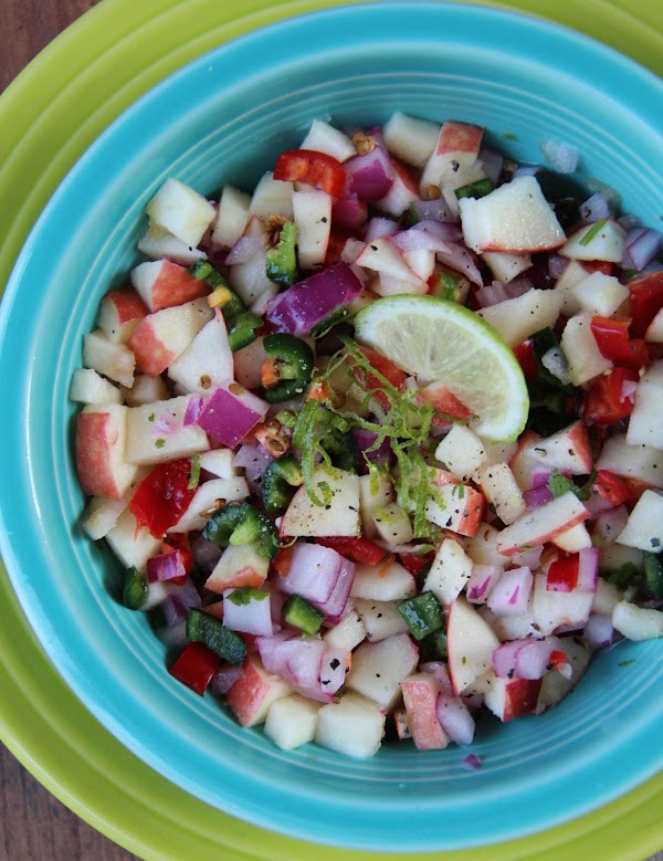 Apple Salsa With Cilantro And Lime Recipe