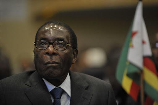 Robert Mugabe's son says Zimbabwe's ruling party ZANU-PF is nothing without his father.