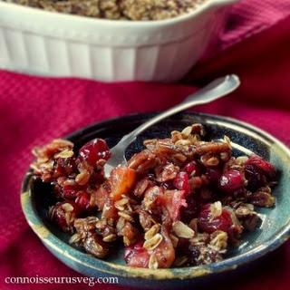 Granola Topped Cranberry Orange Casserole
