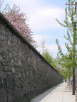 reservoir wall
