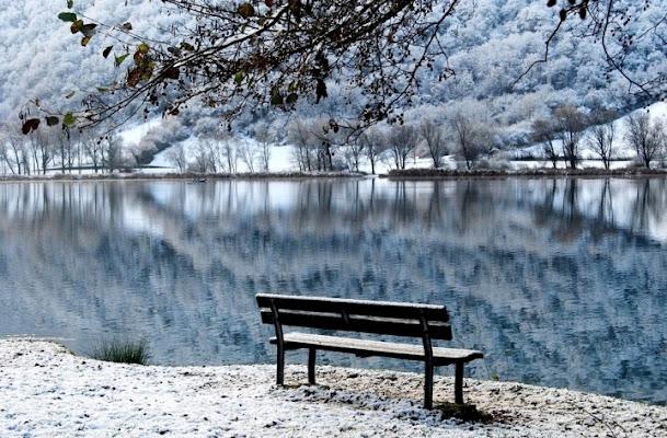 Il lago d'inverno di tizzy