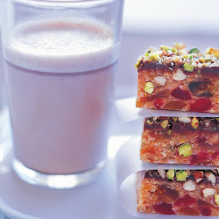 Fruity Almond Pistachio Bars