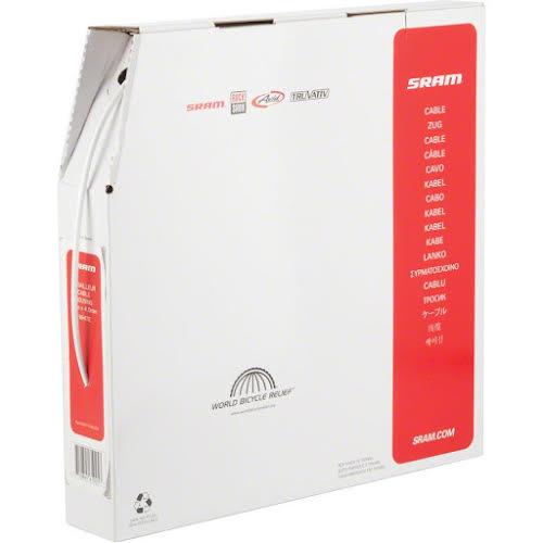 SRAM PitStop 4mm Derailleur Cable Housing White 30M Box