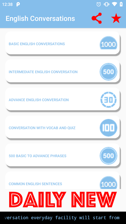English Conversation – (Android Apps) — AppAgg
