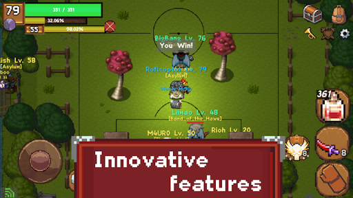 Sword of Legacy - MMORPG 2D 0.2.9 screenshots 3