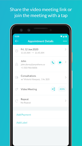 Setmore Appointments - Appointment Scheduling App 2.5.4.20200902 screenshots 2