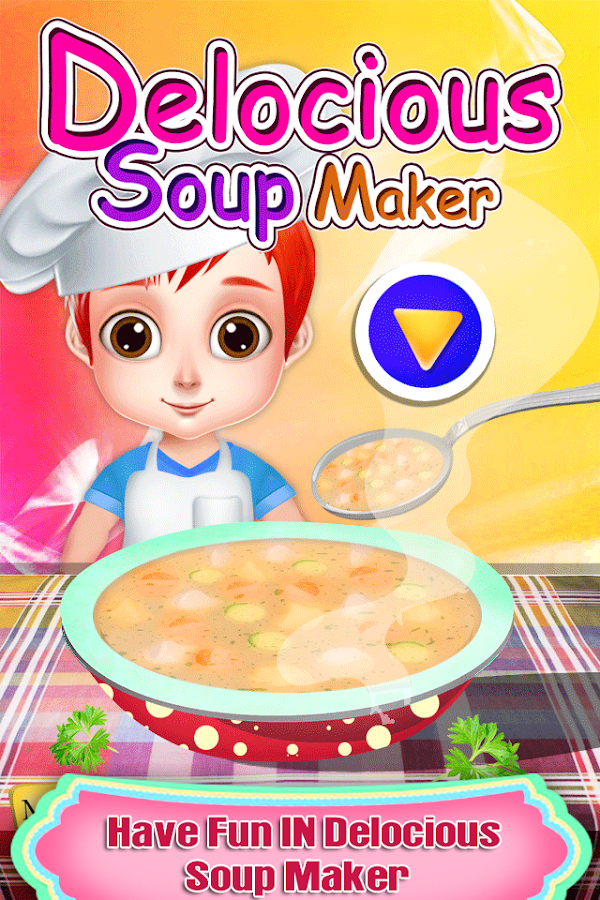 Delicious Soup Maker for Rich Girls - Cooking Game- screenshot